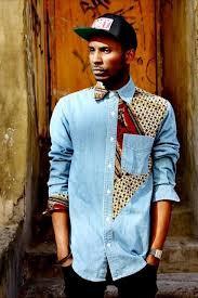 Двухцветные <b>рубашки</b> (подборка) | Модные стили, Африканский ...