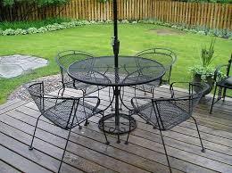 vintage wrought iron patio furniture antique rod iron patio