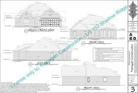 The Oaks House Plans   Flanagan ConstructionLot Shadow Ridge Finals pdf