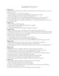the outsiders movie worksheet delibertad the outsiders essay questions and answers