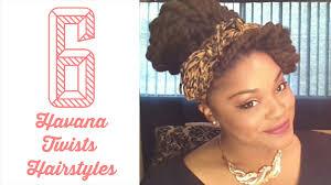 Natural Twist Hairstyles 6 Easy Havana Twists Marley Twists Hairstyles Natural