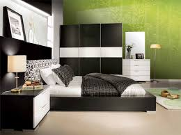 captivating black and white bedroom ideas for modern bedroom equipped with chic sideboard and night lamp captivating white bedroom