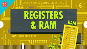 Registers and RAM: Crash Course <b>Computer</b> Science #<b>6</b> - YouTube