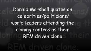 human clones archives com donald marshall quotes on human cloning centre attendees