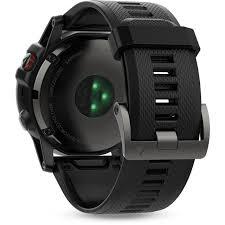 <b>Garmin Fenix 5X</b> Sports Watch with Black Band (Slate Grey <b>Sapphire</b>)
