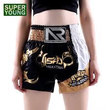 <b>Children</b> Kickboxing MMa <b>Muay</b> Thai Training Shorts Mens Kick ...