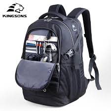 kingsons 10 1 inch small chest bag for men canvas sling casual crossbody single shoulder strap leisure bags