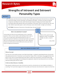 the strengths of introverts and extroverts