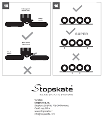 Instruction manual to use an electronic <b>brake</b> set Stopskate ...