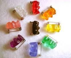 Gummy Bear Badge/<b>Pin</b>/Brooch Мармеладные <b>Мишки</b>, Украшения ...
