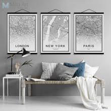 Черно-белый Париж, Берлинская карта городов мира ...