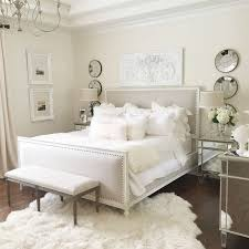 neutral easy master bedroom with restoration hardware bed white wall mirrored furniture fur bedroom with mirrored furniture