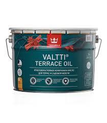 Масло Tikkurila Valtti Terrace <b>Oil для террас</b> основа EC 9 л ...