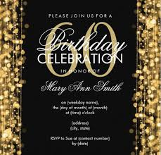 glamorous th birthday party invitations card templates lovable adult affair 60th birthday party invitations template