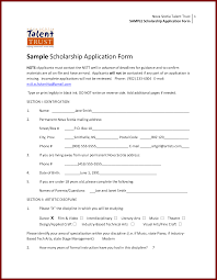 sample scholarship application anuvrat info 17 scholarship application example sendletters info