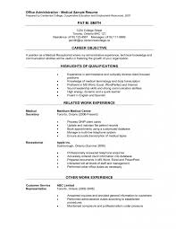 samples of clerical resumes examples sample of it resume resume criminal