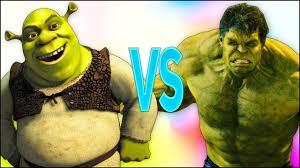 ШРЕК VS ХАЛК | СУПЕР РЭП БИТВА | Shrek ПРОТИВ Hulk ...
