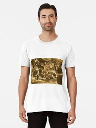 """<b>Thin section</b> of Miocene limestone under the microscope"" <b>T-shirt</b> by ..."
