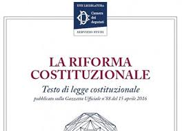Risultati immagini per riforma costituzione