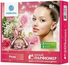 Мини <b>набор INTELLECTICO Юный парфюмер</b> - Роза - купить по ...