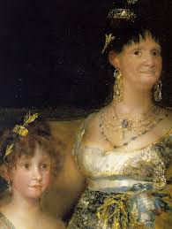 Image result for goya royal family