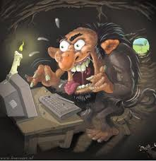 Image result for internet troll hunt + images
