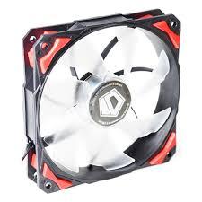 <b>Вентилятор</b> для корпуса <b>ID</b>-<b>Cooling PL</b>-<b>12025</b>-<b>R</b> Red LED/PWM ...