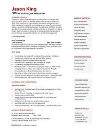 a well written resume example that will help you to convey your    a well written resume example that will help you to convey your office manager skills  experience and academic qualifications
