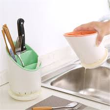 Chopsticks Tube Tableware Storage Rack Shovel Spoon Bucket ...