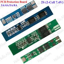 <b>2S 7.4V 4A 18650</b> Li-ion Lithium Battery Cell Protection BMS PCB ...