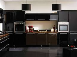 kitchen red black white decor design kitchenmodern black kitchen with red modern laminated stove and chess