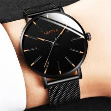 <b>2020</b> MINIMALIST <b>MEN'S</b> FASHION ULTRA THIN <b>WATCHES</b> ...