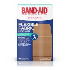 Band-Aid Brand <b>Flexible</b> Fabric <b>Adhesive Bandages</b> for Minor ...