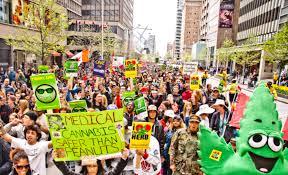 N.J. Marijuana Protest
