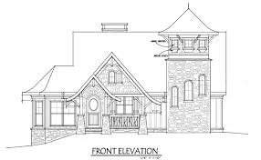 Small Cottage House Plan   Loft   Fairy Tale Cottagesmall rustic cottage house plan   loft fairy