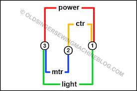 wiring diagram for vintage singers oldsingersewingmachineblog wiring diagram for vintage singers