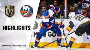 NHL Highlights | Golden Knights @ Islanders 12/5/19 - YouTube