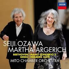 Seiji Ozawa & <b>Martha Argerich</b> Announce New <b>Beethoven</b> Recording |