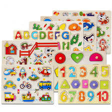 <b>Kids</b> Puzzle/Letters/Abc/Animal/Number and Cartoon <b>Wooden</b> ...