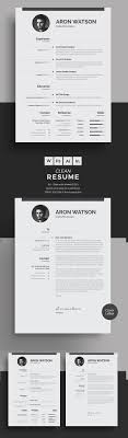 50 best minimal resume templates design graphic design junction 50 best minimal resume templates 12
