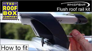 Yakima/ Whispbar flush roof rail <b>kit</b> (K739 <b>Kit</b> used in this demo ...