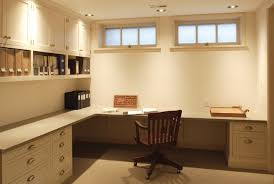 basements traditional basement basement office ideas