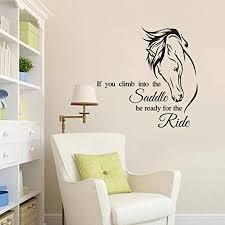 Wokee Wall Stickers Fashion <b>Modern Horse Removable</b> Art Sticks ...