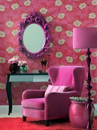 Pink Living Room Furniture Color Your Home Pink