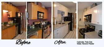 How Reface Kitchen Cabinets Kitchen Cabinet Refacing Before And After Photos Google Search