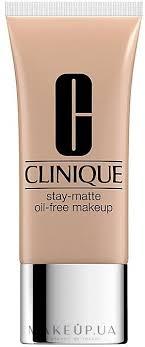 Clinique Stay-Matte <b>Oil</b>-<b>Free</b> Makeup - Матирующий <b>тональный</b> ...
