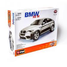 Купить <b>модель машины Bburago</b> 1:18 Машина Сборка BMW X6 M ...