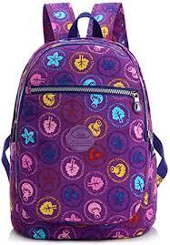 fashion big floral backpack women
