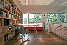 view in gallery interior modern home office with large contemporary box shelves think inside the box creating purposeful art for home office
