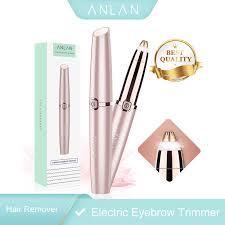 ANLAN <b>Multifunctional Electric</b> Eyebrow Trimmer Painless Mini Eye ...